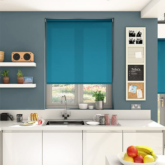 Best Valencia Blue Sea Roller Blind