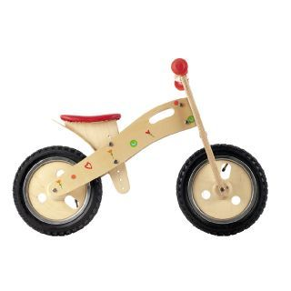 Spring floral hearts are so sweet! This wooden balance bike by Smart Gear is a great way to increase balance.