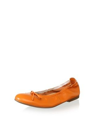 70% OFF Clarys Kid's Stretch Ballet Flat (Orange)