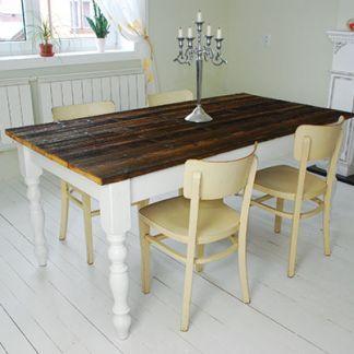 Farmársky jedálenský stôl