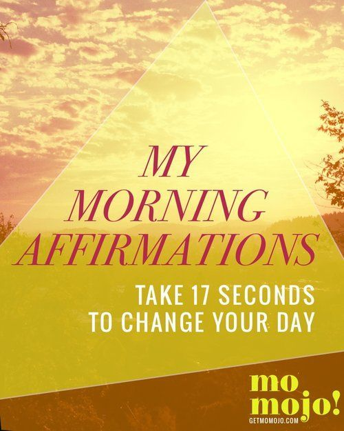 Just 17 seconds of sustained thinking starts the momentum going in that direction, so if you want to swing your day into a good direction, it helps to start from the get-go when you first wake up, and affirmations are a great way to do that! I'm sharing m