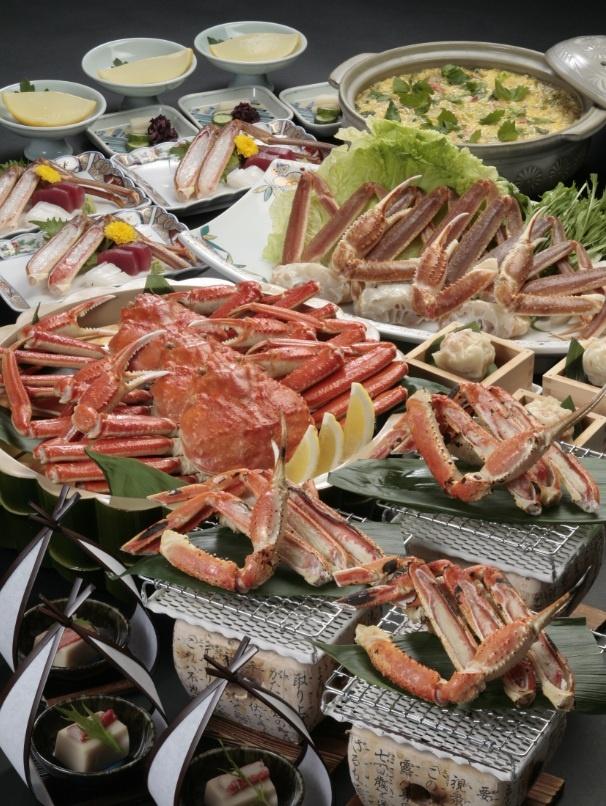 寒い季節になります。温かい蟹料理をどうぞ。