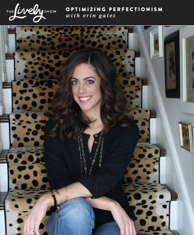 Podcast Interview with Erin Gates of Elements of Style about Optimising Perfectionism and blogging on The Lively Show