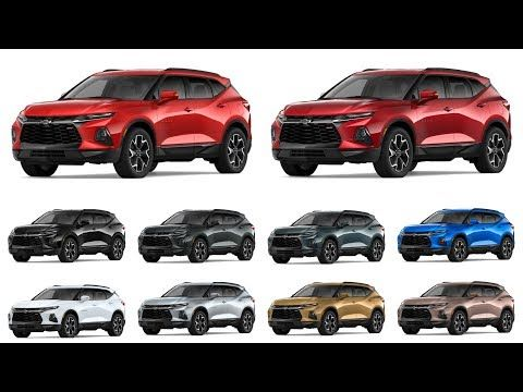 2019 Chevrolet Blazer (Colors) | Trucks Jeeps and SUVs ...