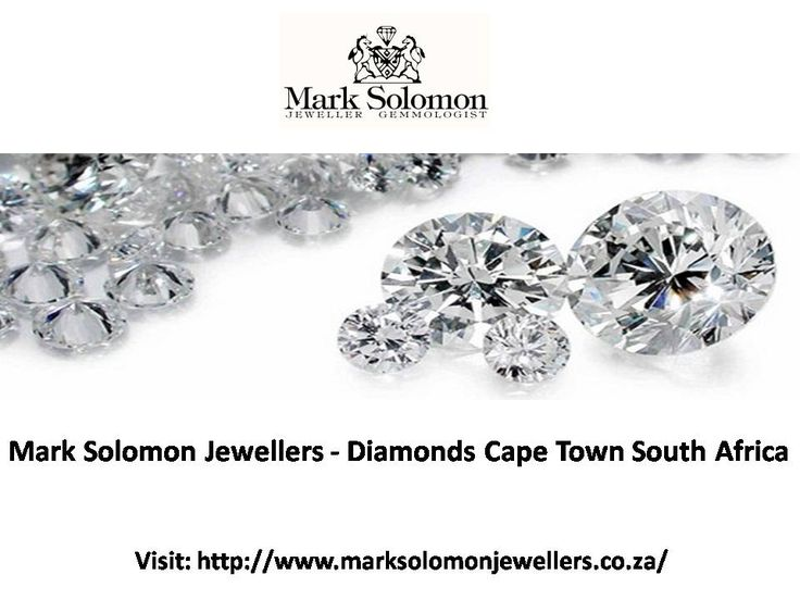 Mark Solomon Jewellers - Diamonds Cape Town South Africa - Mark Solomon brings you the exclusive range of loose diamonds Cape Town with unmatched quality. We also manufacture jewellery with the finest diamonds South Africa and offer them at attractive prices.