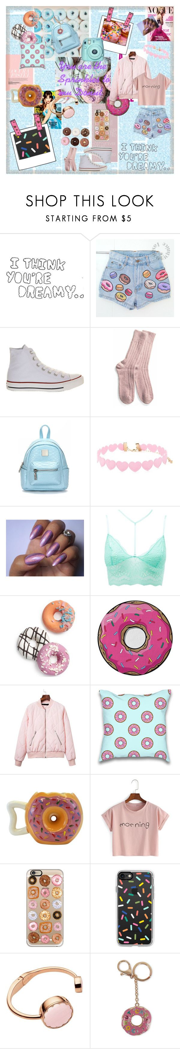 """""""Donut Days"""" by trinity-reece on Polyvore featuring Lazy Oaf, KAROLINA, Converse, Forever 21, Charlotte Russe, Celebrate Shop, Round Towel Co., Casetify, Kate Spade and Viola"""