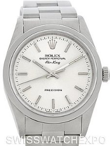 Rolex Oyster Perpetual Air King Watch 14000