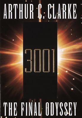 3001 THE FINAL ODYSSEY  by Arthur C. Clarke - 1st Print (HC DJ)