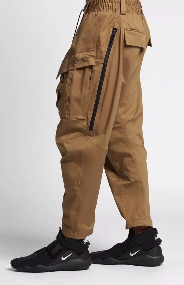 d6c77e97d0bf NEW MENS NIKE NIKELAB ACG CARGO PANTS GOLDEN BEIGE SIZE MEDIUM 880976 245   fashion  clothing  shoes  accessories  mensclothing  activewear (ebay link)