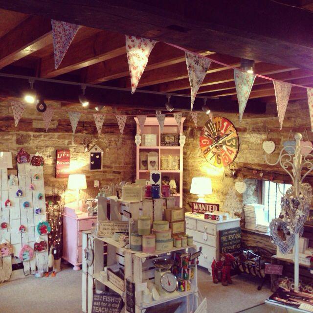 Inside The Shabby Chic Geek Shop ! postcode S75 4JU. Online at www.theshabbychicgeek.co.uk #shabbychic #vintage #theshabbychicgeek #enchantedinterior #barnsley