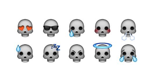 skull emoji http://madeoftherapy.tumblr.com