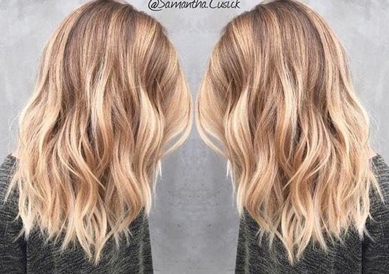 Medium Length Blonde Balayage - Samantha Cusick:
