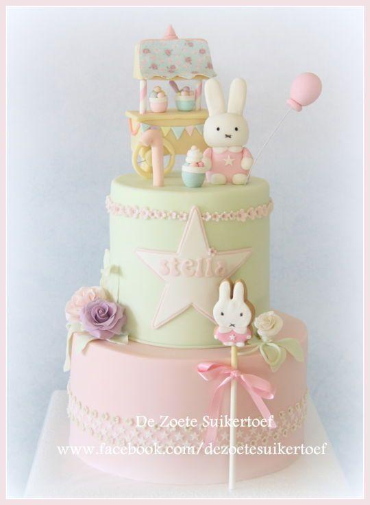 Little Bunny Ice Cream Parlor Birthday Cake