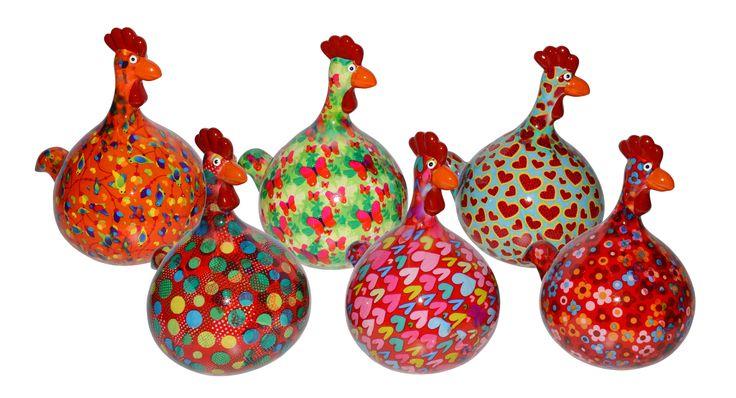 Spaarpot Pomme-Pidou Kip Marie I te koop via www.toefwonen.nl