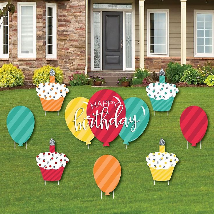 Birthday yard signs diy party ideas birthday yard signs