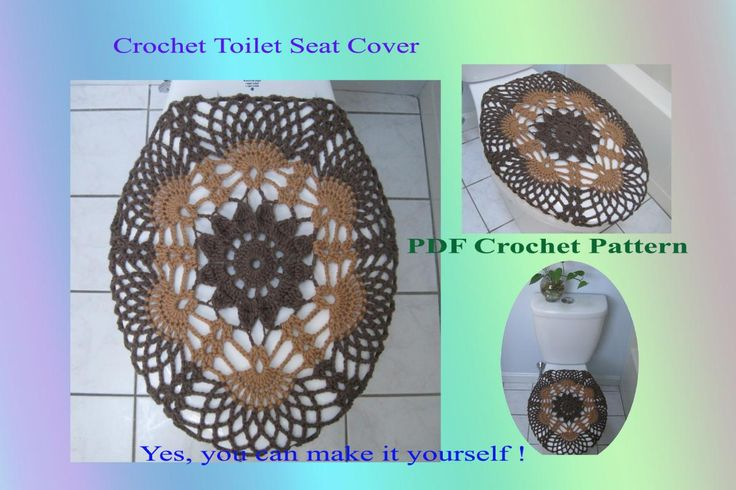Crochet Pattern Toilet Seat Cover Toilets Seat Covers