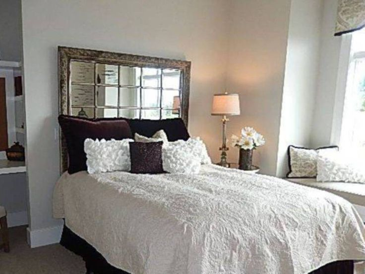 The 25+ best Mirror headboard ideas on Pinterest | Glam ...