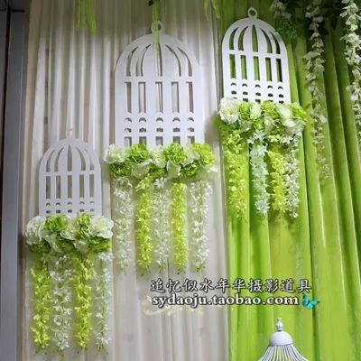 Greenery decor idea