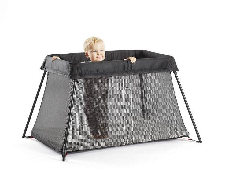 BabyBjörn Reisebett Light inklusive einem Spannbetttuch - online kaufen bei mypram.com