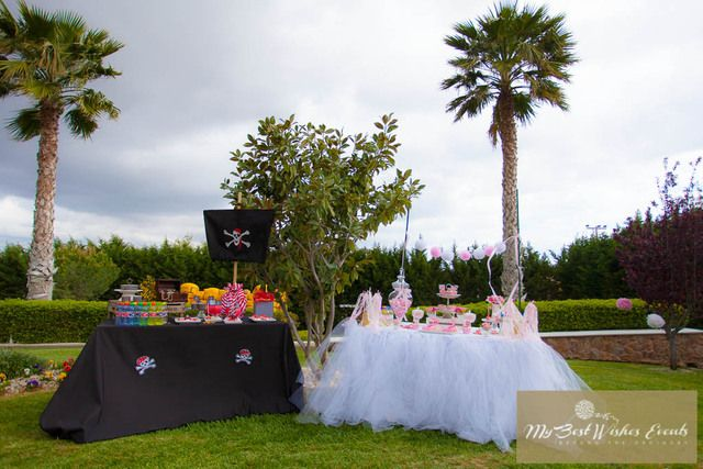 Pirates and princesses party ideas