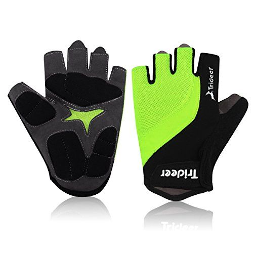 Trideer Light Cycling Biking Glove Gym Glove, Fitness Bodybuilding Cross-fit Exercise Gloves for Sports - Br No description (Barcode EAN = 0608560569007). http://www.comparestoreprices.co.uk/december-2016-5/trideer-light-cycling-biking-glove-gym-glove-fitness-bodybuilding-cross-fit-exercise-gloves-for-sports--br.asp