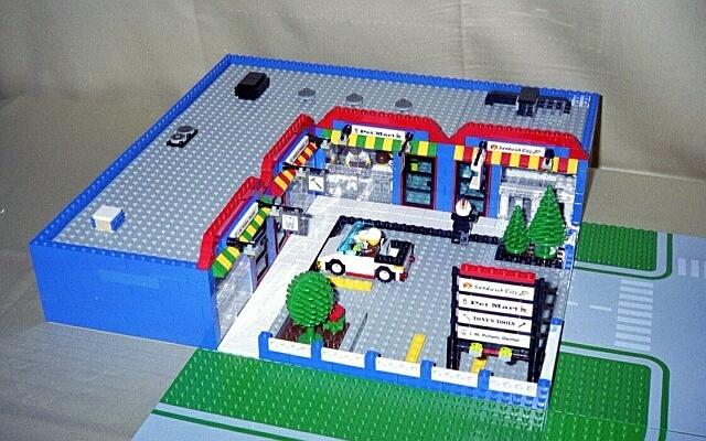 Lego Strip Mall Lego Pinterest Lego