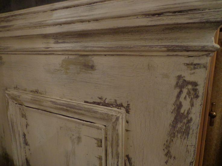 8 best creations of barbotine images on pinterest chalk paint annie sloan and annie sloan - Kleuren muur toilet ...