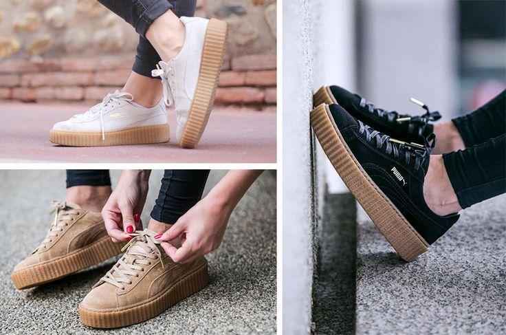 plateau sneaker puma rihanna sooco