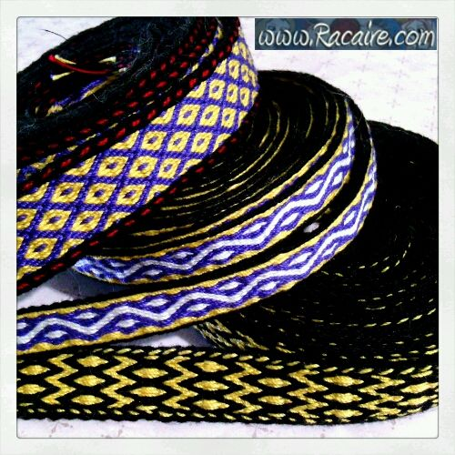 …and my 7th tablet woven band is finished :D  Read more: http://www.racaire.com/2017/06/10/7th-tablet-woven-band/