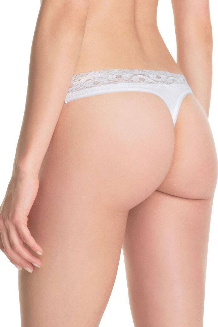 Esprit - 2 x lacy thongs at our Online Shop