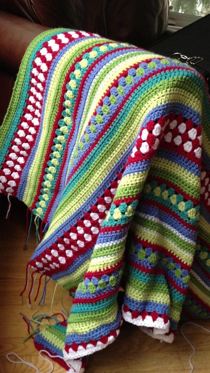 : Crochet Blankets, Pretty Pattern, Crochet Afghans, Pixel, Grannie Squares