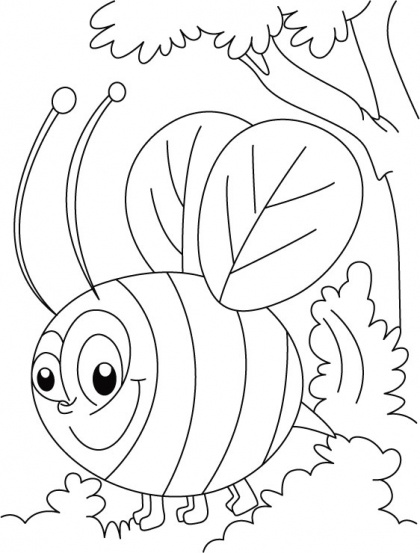 honey bee busy in squeeze coloring pages download free honey bee busy in squeeze coloring