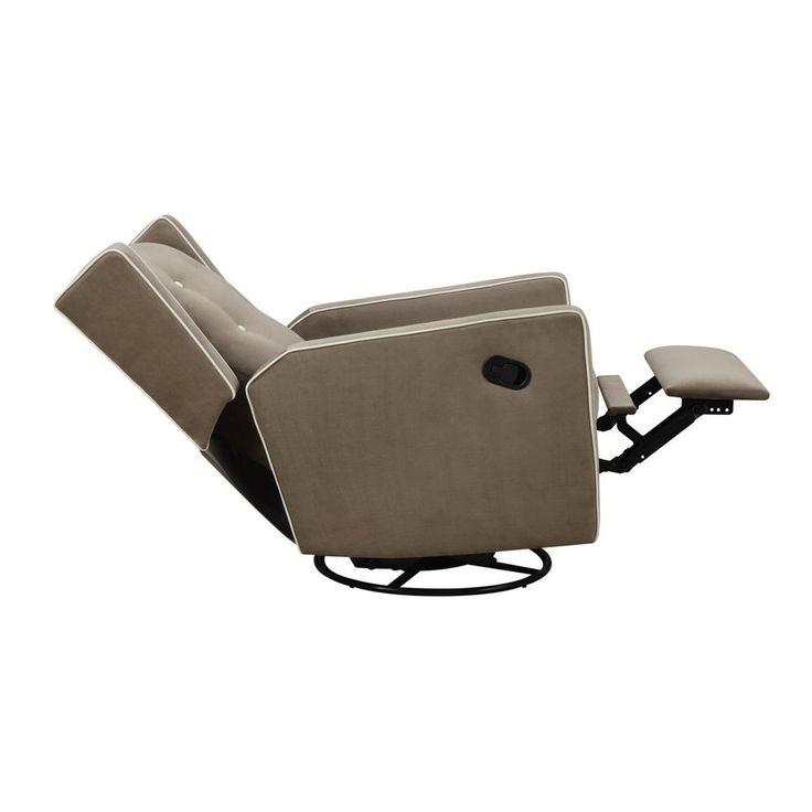 Modern Chaise Lounge Indoor Recliner Chair Nursery Modern Glider Home Furniture #ModernChaiseLounge