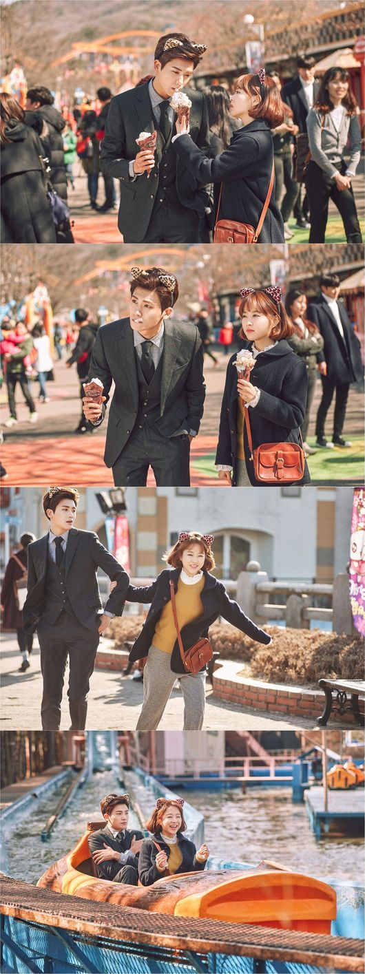 Their acting is on fleek...They seem like they're on a real date...I wonder...