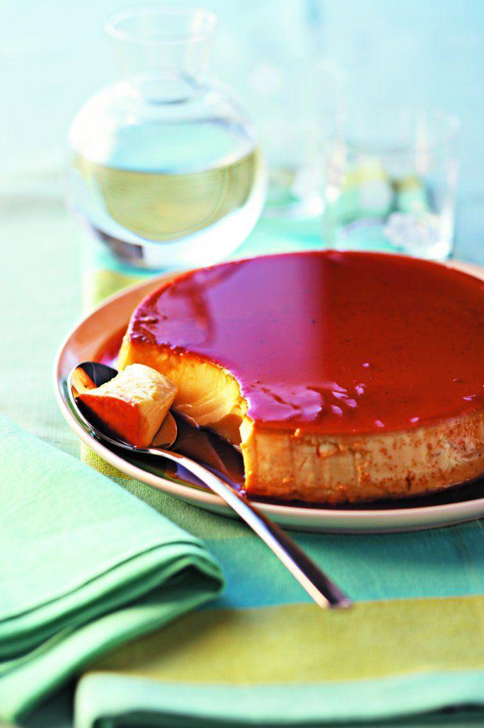 La crème caramel Cuisine et Vins de France