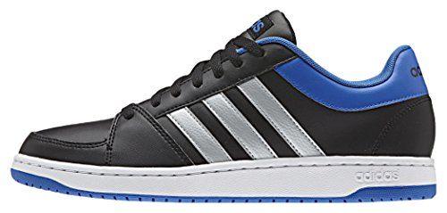 Adidas Herren Hoops Vs Basketball-Schuhe, Mehrfarbig (Cblack/Msilve/Blue), 40 2/3 EU - http://on-line-kaufen.de/adidas/40-2-3-eu-adidas-herren-hoops-vs-basketball-schuhe-2