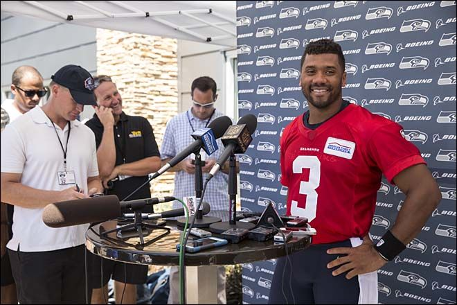 Wilson, Seahawks agree to $87 million contract extension