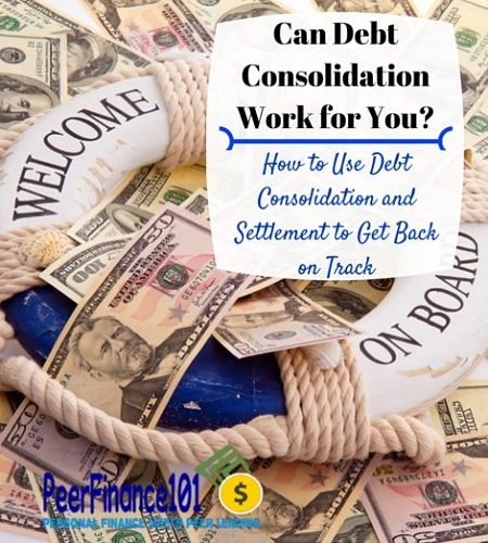 Complete debt settlement and debt consolidation process. Learn which is right for you and how to get your personal finances back on track.