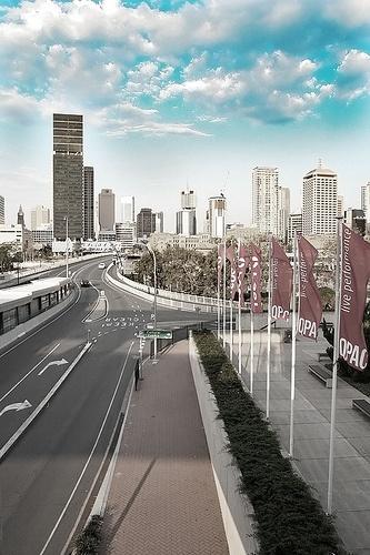 Brisbane Skyline, via Flickr.