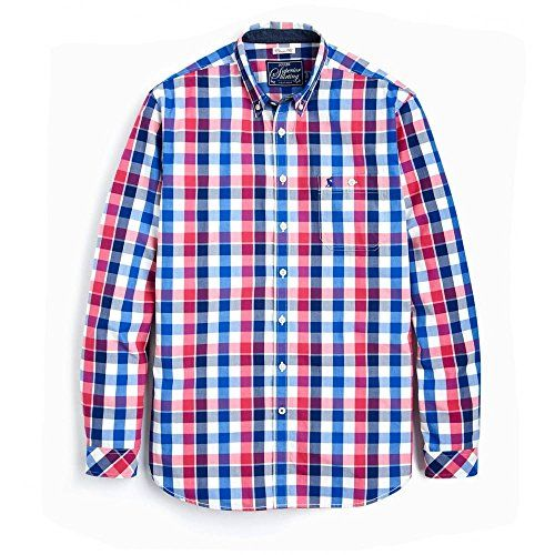 Joules Mens Hewney Long Sleeve Button Cotton Casual Shirt