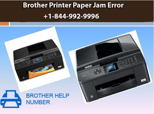 Brother printer paper jam error are a common if the printer
