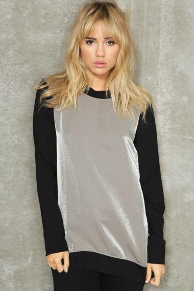 Won Hundred Caty Metallic Sweater  #uostyle