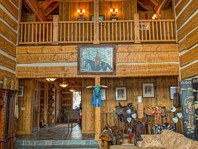 Rutherford County   Brown Home   Lake Lure, NC This Custom Home Features  Logs From Our Bob Timberlake® Log Home Collection. The Home Is Located In  The Lake ...