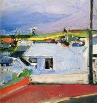 Richard Diebenkorn (American, Bay Area Figurative Movement, 1922–1993): Chabot Valley, 1955.