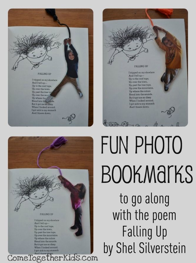 Come Together Kids: Fun Photo Bookmarks