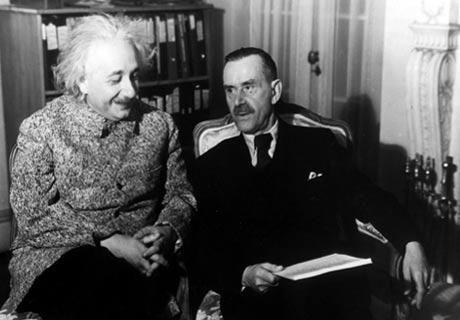 1938' Princeton, Albert Einstein und Thomas Mann