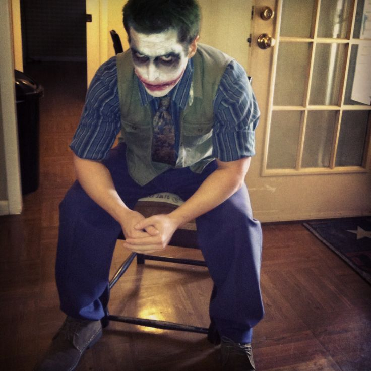 DIY joker costume