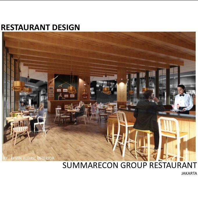 "Restaurant design ""The barrels"" designed by Kevin Aldric Interior. client: Summarecon group jakarta La piazza klapa gading. Inspired by fisherman bar."