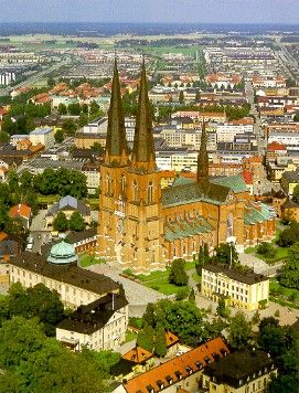 Uppsala is the capital of Uppsala County and the fourth largest city of Sweden.