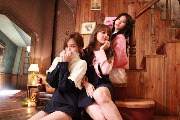 Mina Jihyo and Sana